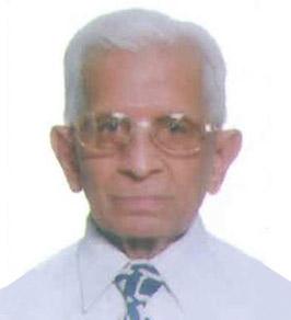 Late Shri. Chamanbhai Vora