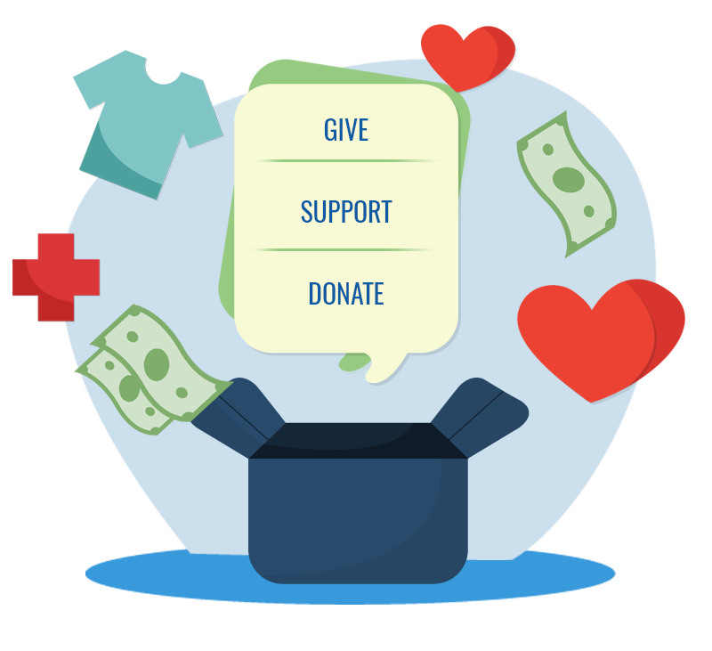 give-support